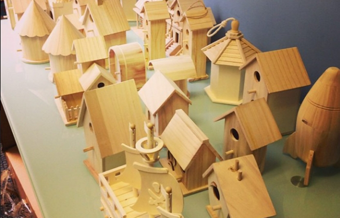 Birdhouse Building Day