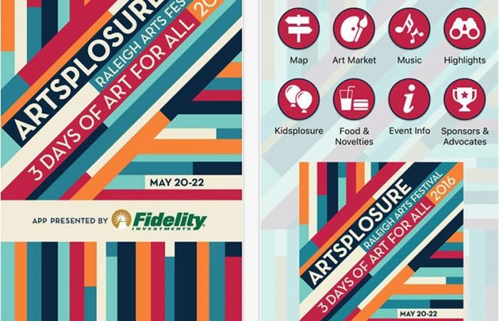 Mobile App For Artsplosure 2016