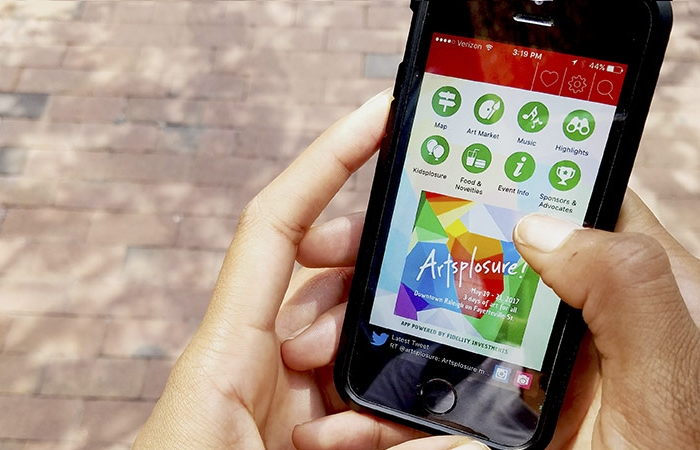 Download Our Free Artsplosure 2017 Mobile App!